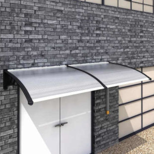 Polykarbonátová stříška nad dveře 300x100 cm