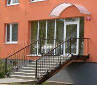 Oblouková vchodová stříška Rondo