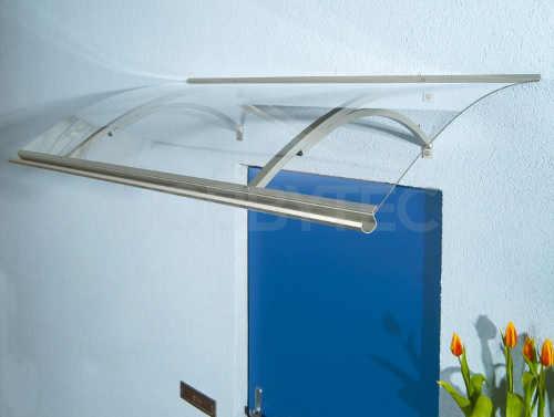 Stříška nad vchodové dveře z akrylového skla