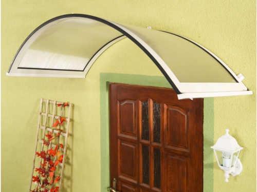 Vchodová stříška RONDO v obloukovém tvaru