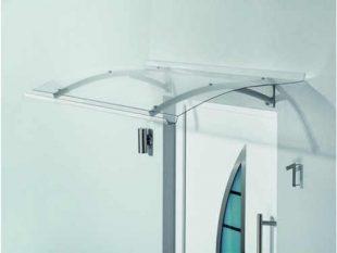 Vchodová stříška v elegantním designu