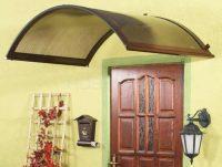 Vchodová stříška 160x90 cm v moderním designu
