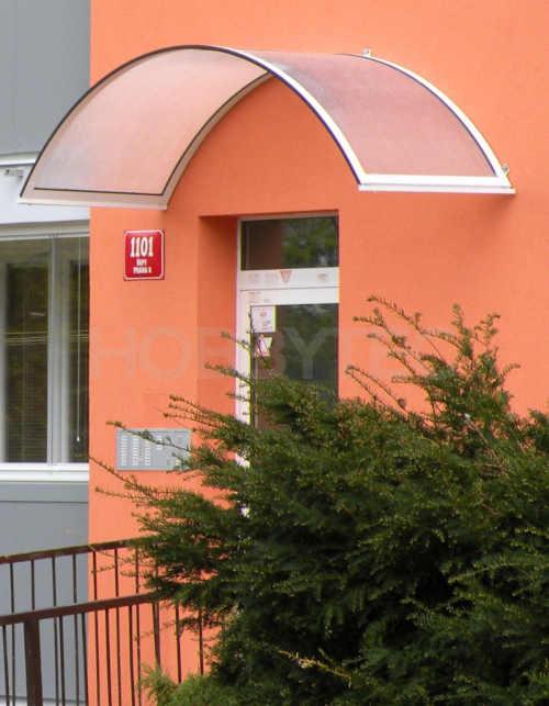 stříška rondo nad dveře, bankomaty, lodžie
